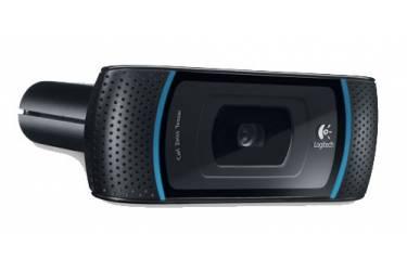 Камера Web Logitech HD Webcam B910 черный USB2.0 с микрофоном для ноутбука