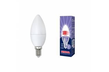 Лампа светодиодная Uniel Norma LED-C37-11W/DW/E14/FR/NR 6000K свеча