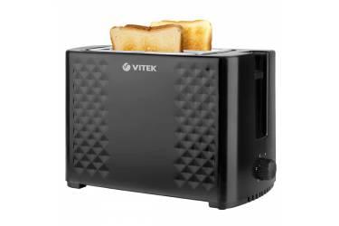 Тостер Vitek VT-1586-01 800Вт черный
