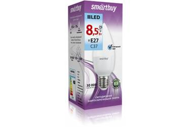 Светодиодная (LED) Лампа Smartbuy-C37-8,5W/6000/E27