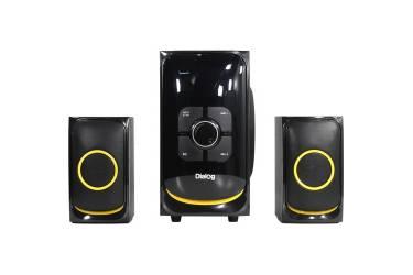 sp Dialog Progressive AP-208 black (2.1, 30W+2*15W RMS,Bluetooth,FM,USB+SD reader)