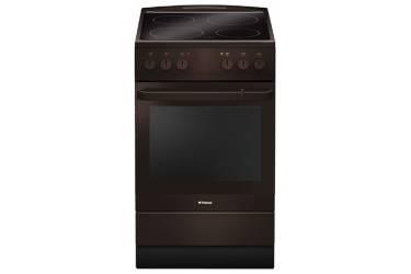 Плита Электрическая Hansa FCCB54000 коричневый