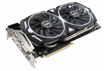 Видеокарта MSI PCI-E GTX 1080 Ti ARMOR 11G OC nVidia GeForce GTX 1080Ti 11264Mb 352bit GDDR5X 1531/11016 DVIx1/HDMIx2/DPx2/HDCP Ret