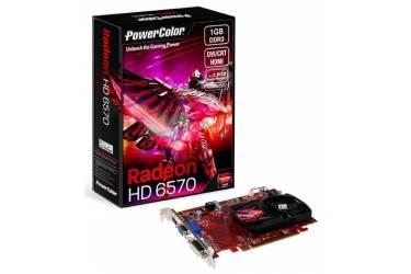 Видеокарта PowerColor PCI-E AX6570 1GBD3-HE AMD Radeon HD 6570 1024Mb 128bit DDR3 650/1000 DVIx1/HDMIx1/CRTx1/HDCP oem