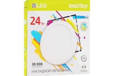 Накладной (LED) светильник Round SDL Smartbuy-24w/6500K/IP20 _круг d280_h28