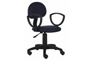 Кресло Бюрократ CH-213AXN/Bl&Blue черный/синий 12-191