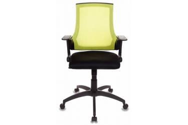 Кресло Бюрократ CH-500/SD/TW-11 спинка сетка салатовый сиденье черный TW-11