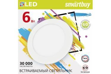 Встраиваемый (LED) светильник DL Smartbuy-6w/4000K/IP20 _118х10мм (врезн.отв.103мм)