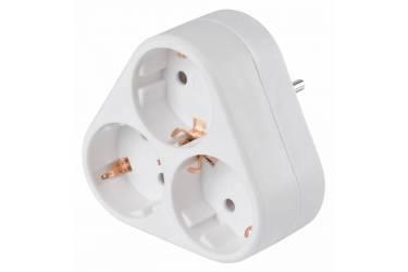 Сетевой разветвитель Buro BU-PS3VG-W (3 розетки) белый (пакет ПЭ)
