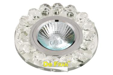 Светильник точечный_DE FRAN_ FT 850 CL MR16 хром зеркальный прозрачный