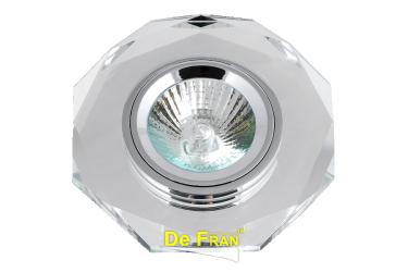 Светильник точечный_DE FRAN_ FT 864 MR16 хром+белый