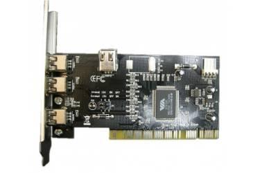 Контроллер PCI VIA6306 1xIEEE1394(4p) 3xIEEE1394(6p) Bulk