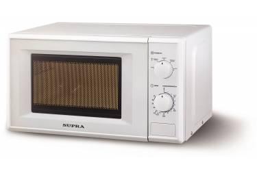 Микроволновая Печь Supra MWS-20MW05 белый 20л 700Вт механическая