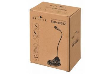 Микрофон проводной Oklick MP-M012 1.8м черный