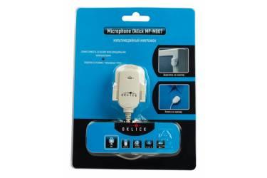 Микрофон проводной Oklick MP-M007 1.8м белый