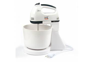Миксер с чашей стационарный IRIT IR-5434 белый 150Вт 7скоростей