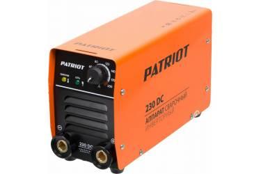 Сварочный аппарат Patriot 230DC MMA инвертор ММА DC 6.3кВт