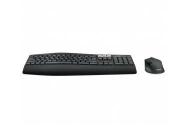 Клавиатура + мышь Logitech MK850 Perfomance клав:черный мышь:черный USB Bluetooth slim Multimedia