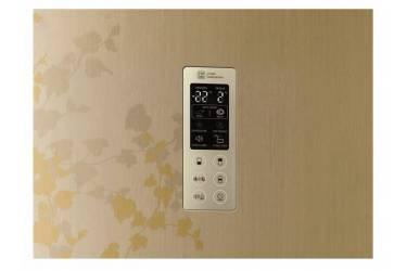 Холодильник LG GA-B489ZVTP золотистый (двухкамерный)