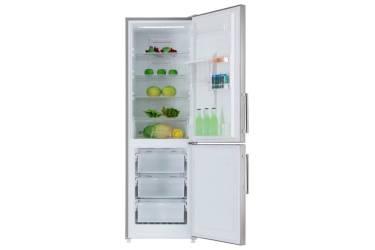 Холодильник Ascoli ADRFI375WE нержавеющая сталь 1850x590x675 305л(х214м91) дисплей полный No Frost