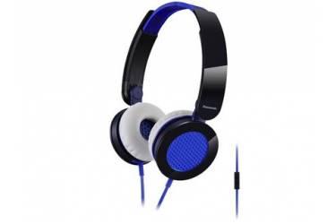 Наушники Panasonic RP-HXS 200E-A, полноразмерные, черные/синие (10)