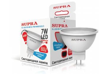Лампа светодиодная SUPRA_PR_MR16-07W/4000/GU5.3
