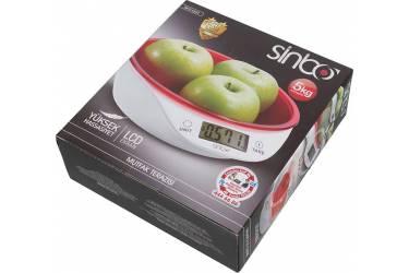 Весы кухонные электронные Sinbo SKS 4521 макс.вес:5кг красный