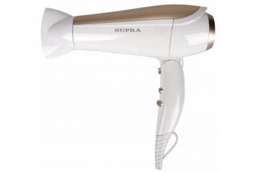 Фен Supra PHS-2009 2200Вт белый с золотистом 3t*2скорости