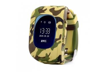 Умные часы Smart Baby Watch Q50 Camouflage