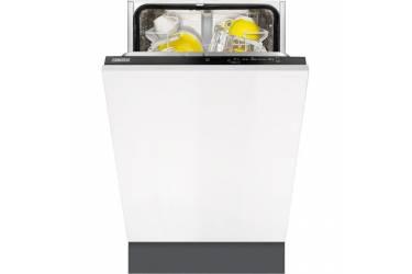 Посудомоечная машина Zanussi ZDV91200FA 2100Вт узкая белый/серый