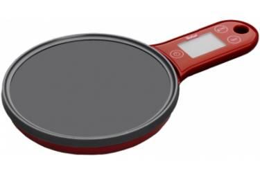 Весы кухонные электронные Tefal BC2530V0 макс.вес:5кг красный/черный