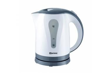 Чайник электрический Элис ЭЛ-2026 пластик бело-серый 2200Вт 1,8л
