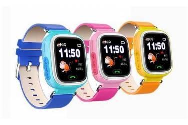 Умные часы Smart Baby Watch Q100 Blue