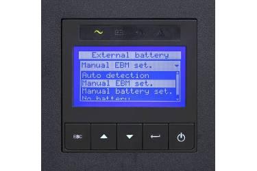 Источник бесперебойного питания Eaton 9PX 9PX11KiRTNBP 10000Вт 11000ВА черный