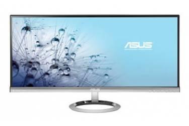 """Монитор Asus 29"""" MX299Q черный IPS LED 21:9 DVI HDMI M/M матовая 300cd 2560x1080 DisplayPort FHD 5.5кг"""