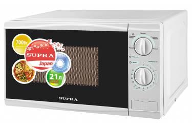 Микроволновая печь Supra 20MW15 белый 21л 700Вт механика