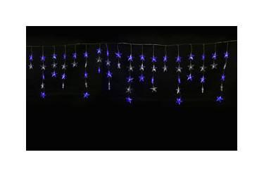 """Занавес светодиодный фигурный """"Звёздочки-1"""" ULD-E5505-196/DTK WHITE-BLUE IP20 STARS-1"""