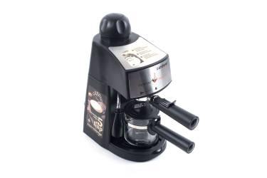Кофеварка эспрессо Endever Costa-1050, черный/стальной 5бар 900Вт