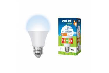 Лампа светодиодная Volpe LED-A60-11W/DW/6500/E27/FR/O станд мат