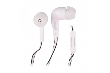 Наушники Ritmix RH-004M внутриканальные с микрофоном белые