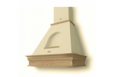 Вытяжка каминная Lex ANCONA 600 cлоновая кость/бук неокрашенный управление: ползунковое (1 мотор)
