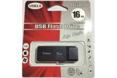 USB флэш-накопитель 16GB Prima PD-13 черный USB2.0
