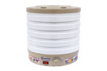 Сушилка для овощей Мастерица ЭСБ-11/18-300, 5 поддонов, 18 л, вентилятор, круглая 33*33*32см
