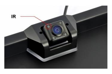 Камера заднего вида Silverstone F1 Interpower IP-616 IR универсальная