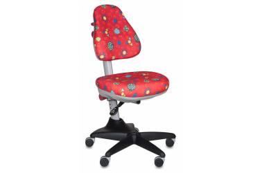 Кресло детское Бюрократ KD-2/R/LB-Red красный божьи коровки LB-Red