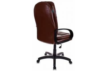 Кресло руководителя Бюрократ CH-1868/NUT коричневый искусственная кожа (пластик черный)