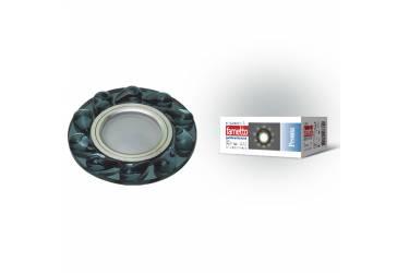 Светильник точечный Uniel DLS-P122 GU5.3 CHROME/BLACK без лампы
