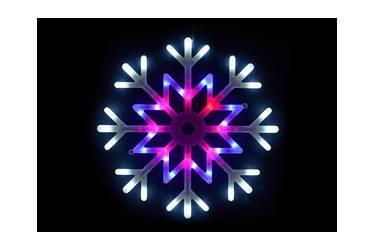 "Фигура светодиодная ""Снежинка"" ULD-H4040-048/DTA MULTI IP20 SNOWFLAKE"
