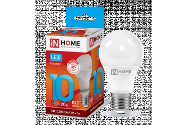 Лампа светодиодная IN HOME LED-A60-VC 10Вт 230В Е27 4000К 900Лм