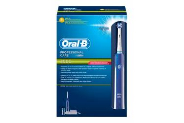 Зубная щетка электрическая Oral-B Precision Clean PC-3000 белый/синий